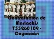 T/55 5526 0109 contratación de mariachis coyoacán