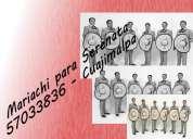 T(55) 57 033 836 mariachi para serenata cuajimalpa