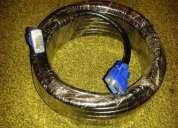 Cable vga macho-hembra 10 mts.