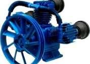 Cabezal compresor nuevecito de 7.5 hp con polea y filtros garantizado