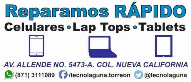 Reparación de celulares express en Torreón
