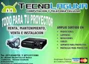 Renta de proyectores y equipo multimedia