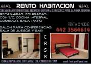 Hermosas habitaciones disponibles