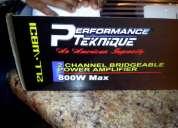 Venta de amplificador performance 800wtts 400rms nuevo