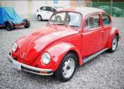 Venta de volkswagen escarabajo vocho año 1999