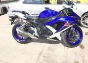 Vendo suzuki gsxr 600 2009 posible cambio