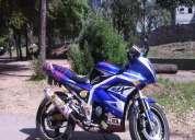 Vendo moto deportiva barata