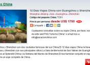 12 dias viajes china con guangzhou y shenzhen
