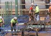 Trabajadores de construcción e ingeniería necesarios en américa en 8500 usd