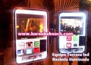 Renta de rockolas con luces monterrey san nicolas karaoke rokola