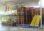 Juegos modulares, playgrounds, juegos infantiles, juegos estimulación temprana