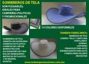 Sombreros ecologicos para campañas envio a toluca