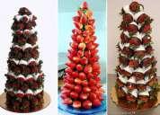 Mesa de dulces, fuentes de chocolates, y más para tu evento