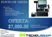 Punto de ventas en tu negocio y facturación electrónica.
