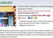China golden triangulo con datong,pingyao y wutaishan 15 dias