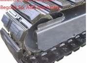 Orugas de acero para cargador bobcat