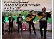 Mariachis disponibles las 24 hrs | 66086860 | benito juarez urgentes