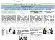 Taller de selección de personal y pruebas psicométricas