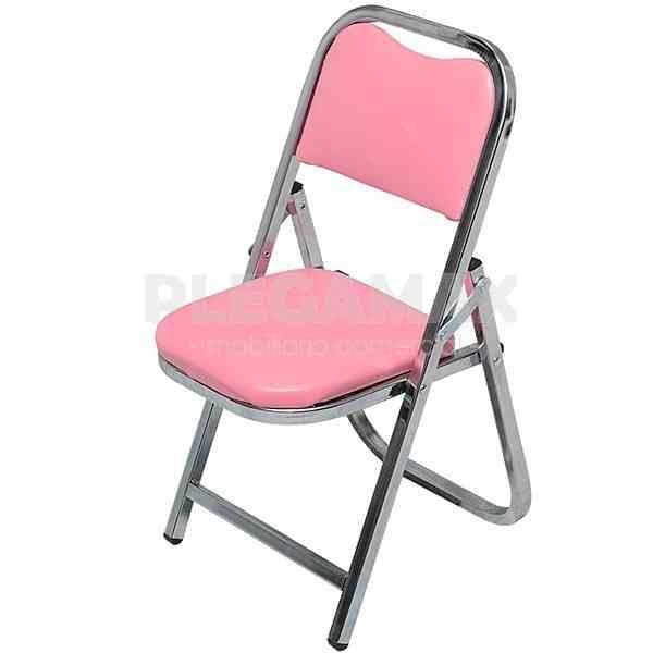En busca de sillas plegables infantiles acojinadas en for Sillas plegables comodas