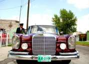 Bonito auto clasico mercedes 220 año 1962,buen estado!