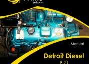 Manuales de motor detroit diesel 8.2 l.