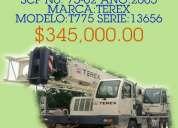 Grúas en venta. marca terex modelo t775.aproveche!