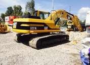 Vendo excavadora caterpillar 322bl