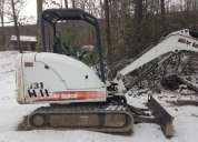 Vendo bobcat 331 mini excavadora