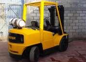 Vendo montacargas usado hyster 2002 modelo h80xm 8000lbs