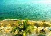 departamento 4 o 5 personas con playa y albercas en playa condesa