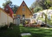 Renta de hermosa casa chalet vistal al bosque