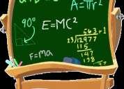 Asesorías de física y matemáticas