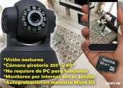 Camara video-vigilancia con autograbacion en micro sd