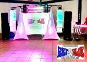 Mini antro, dj para fiestas, karaoke, salitas lounge!