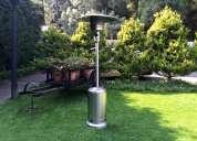 Renta de calentadores tipo hongo para jardin
