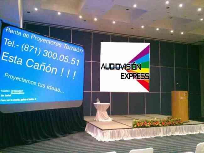 Renta de Proyectores en Torreón llama al 300.05.51