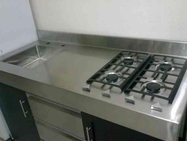 Cocinas industriales y barandales de acero inoxidable for Cocinas de acero inoxidable