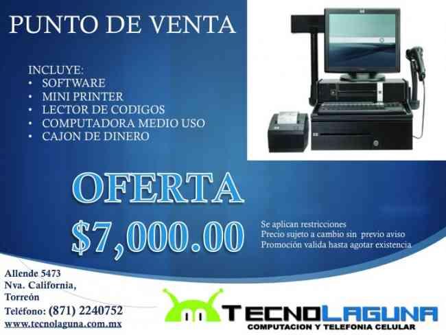 Facturación electrónica y puntos de ventas para tu negocio en Torréon