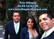 Trios musicales contrataciones mexico df