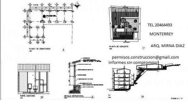 Planos y permisos para construccion monterrey monterrey for Planos de construccion