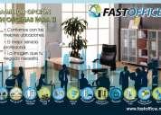Fastoffice excelentes ubicaciones tu oficina física o virtual con servicios incluidos