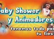 Animación 100% Entretenida para tu Baby Shower