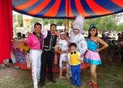 Shows de circo malabaristas magos payasos zanqueros
