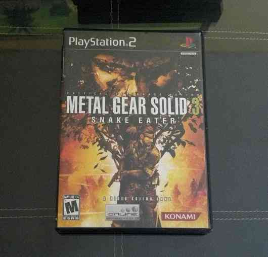 Vendo Metal Gear Solid 3: Snake Eater PS2