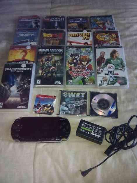 Vendo PSP con juegos