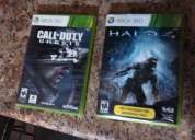 Vendo video juego cod ghost y halo