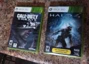 Vendo video juego cod ghost y halo