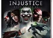 Vendo videojuego injustice ps3