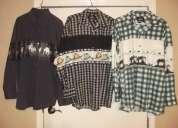 Vendo camisas vaqueras y cuadros decaballos