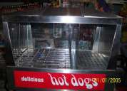 Vendo maquina hot/ dogs/ baporera